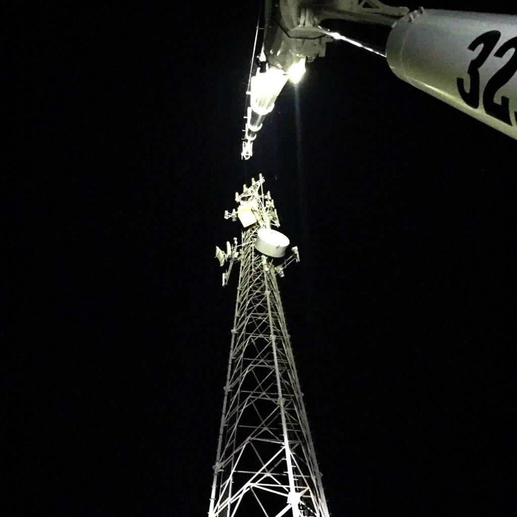 Spinning Crane Works Central Florida crane services